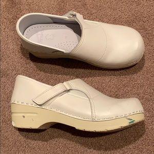 White Dansko size 38 used